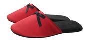 Домашние тапочки женские «Красный атлас»